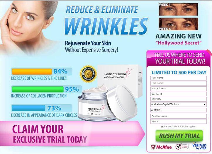 Radiant Bloom Ageless Eye Cream Reviews Price Or Where