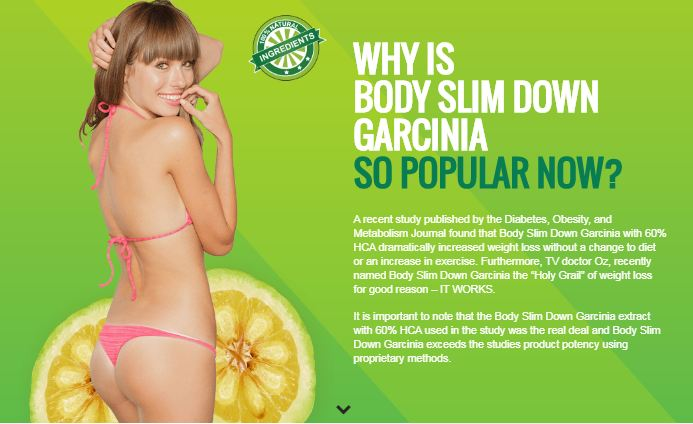 body slim down garcinia