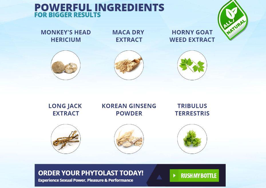 phytolast ingredients