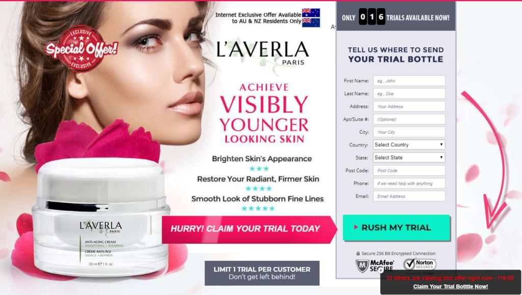 Laverla cream