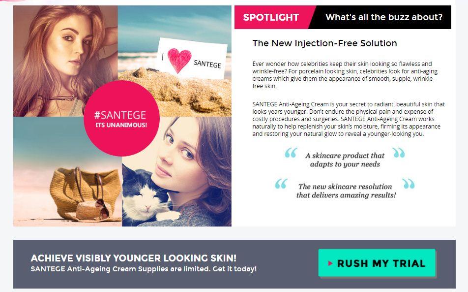 santage skin