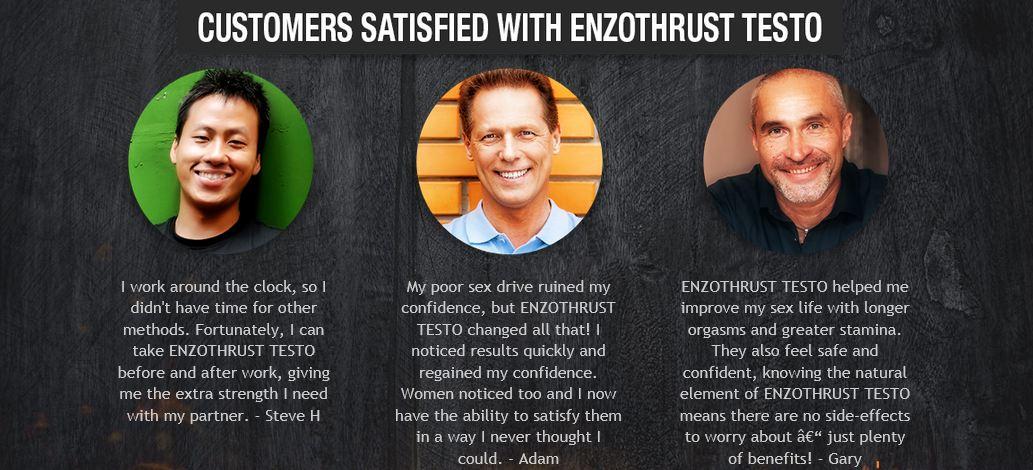 enzothrust testo booster